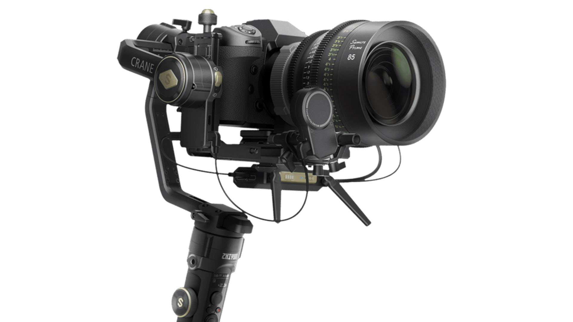 zhiyun crane 2s camera gimbal