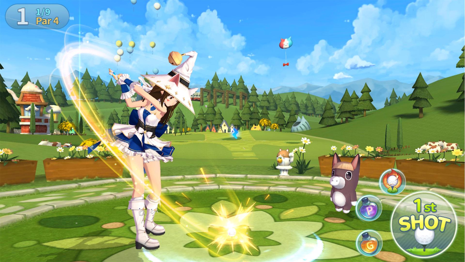 Android apps weekly Birdie Crush Fantasy Golf screenshot