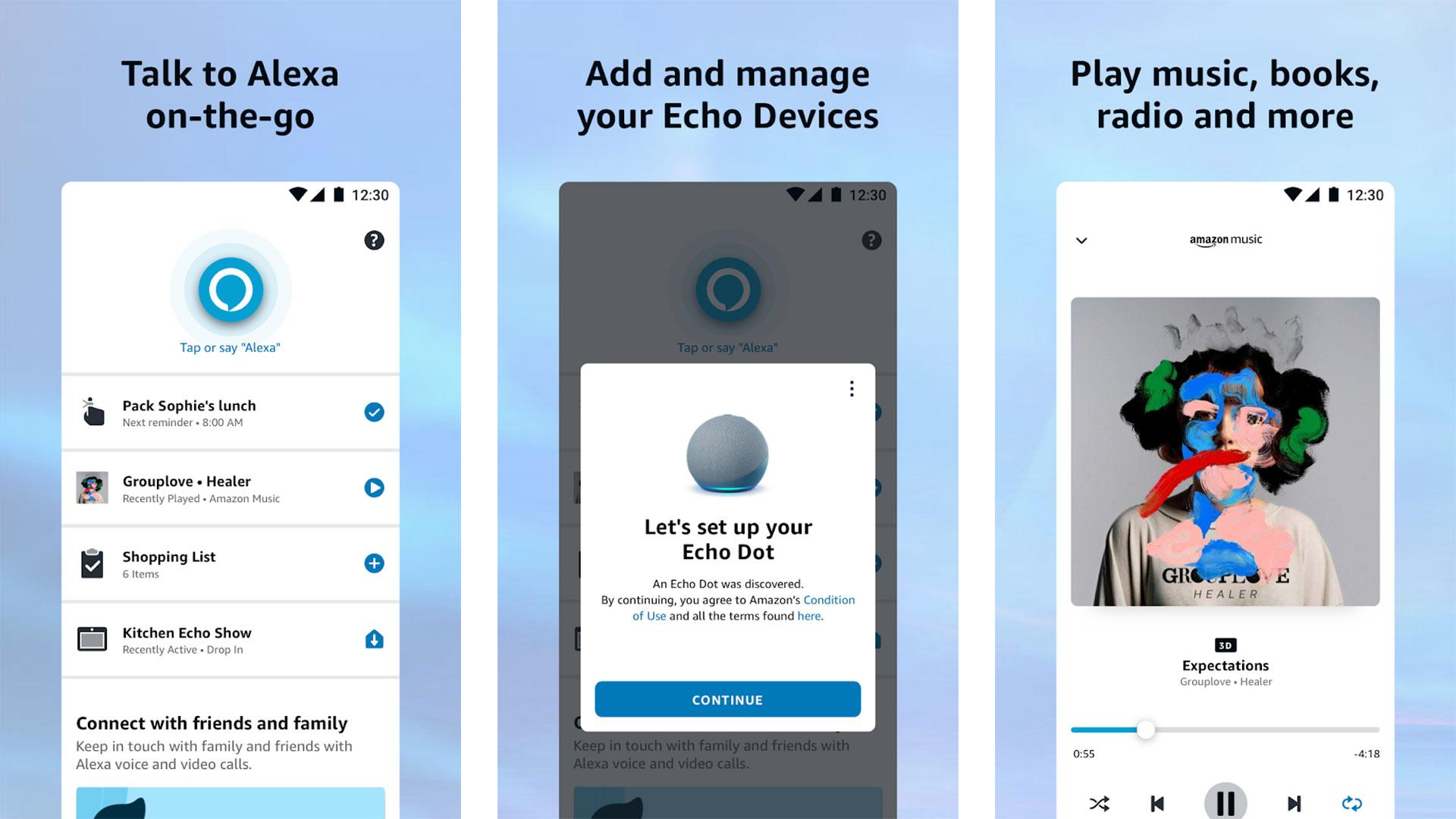 Amazon Alexa screenshot 2021
