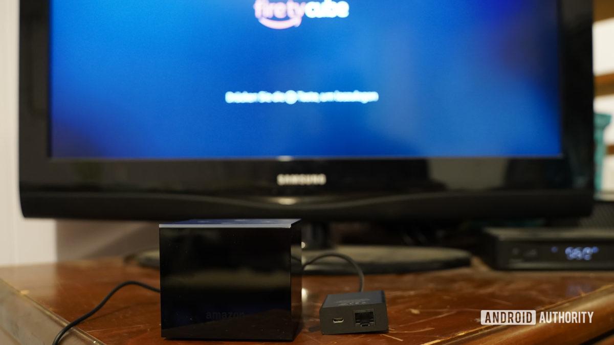 Amazon Fire TV Cube önyükleme