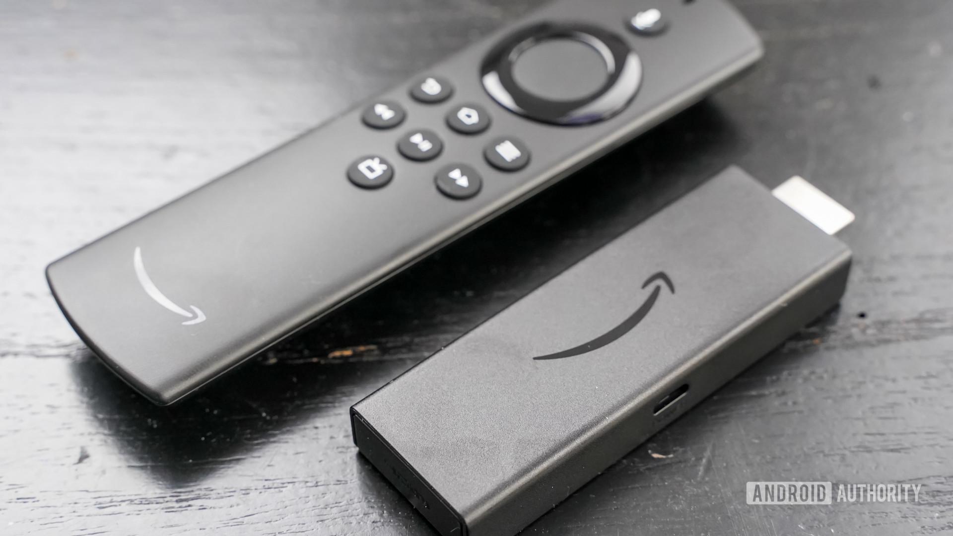 Amazon Fire TV Stick Lite angled profile