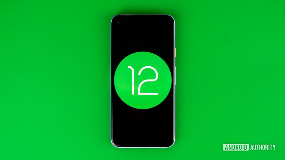 Android 12 foto de stock 1