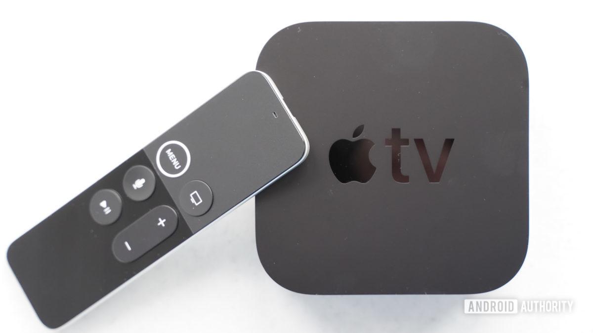 Apple TV 4K con inclinación remota
