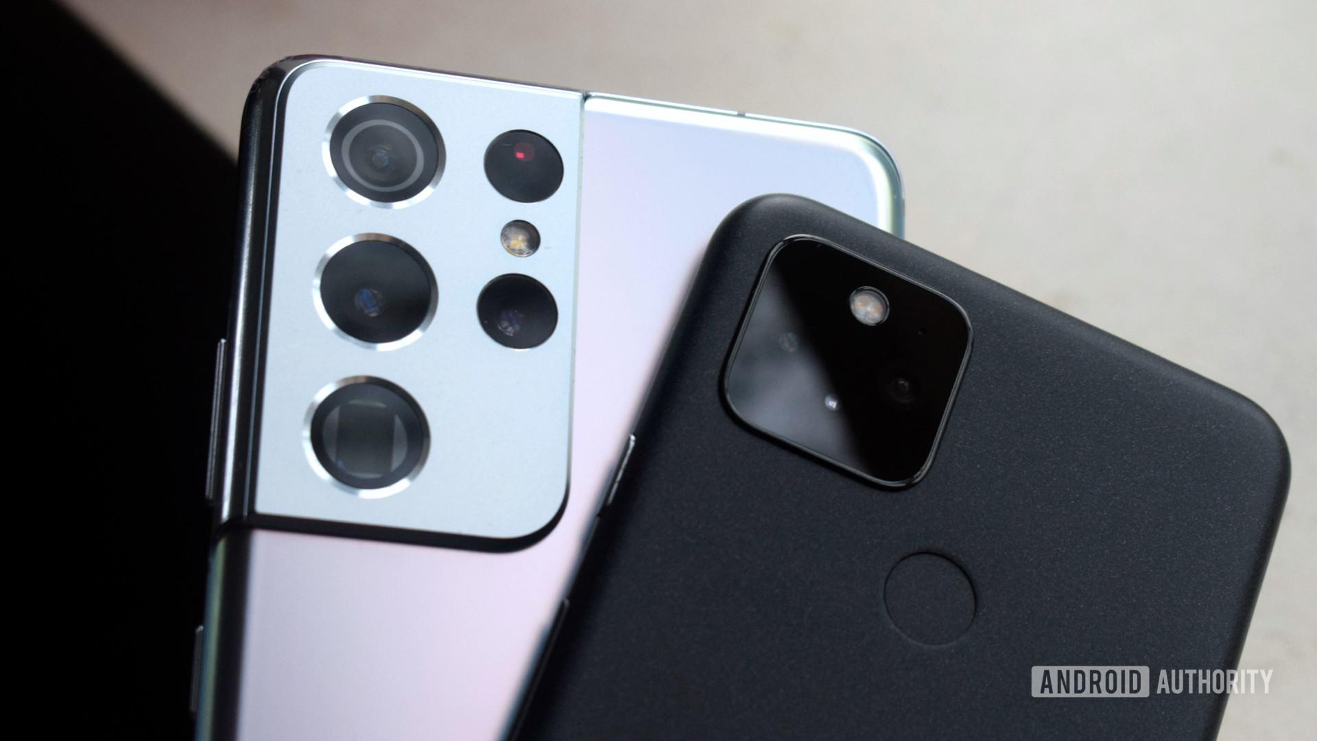 Galaxy S21 Ultra vs Pixel 5 camera