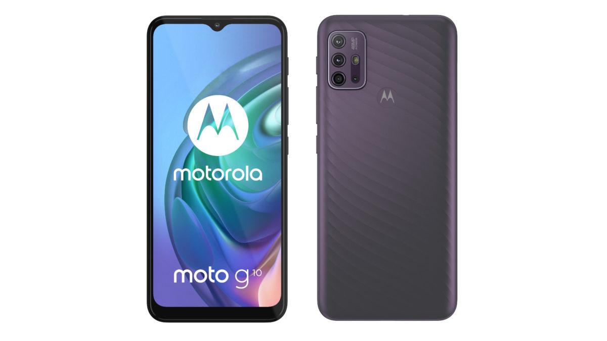 Motorola Moto G10 official