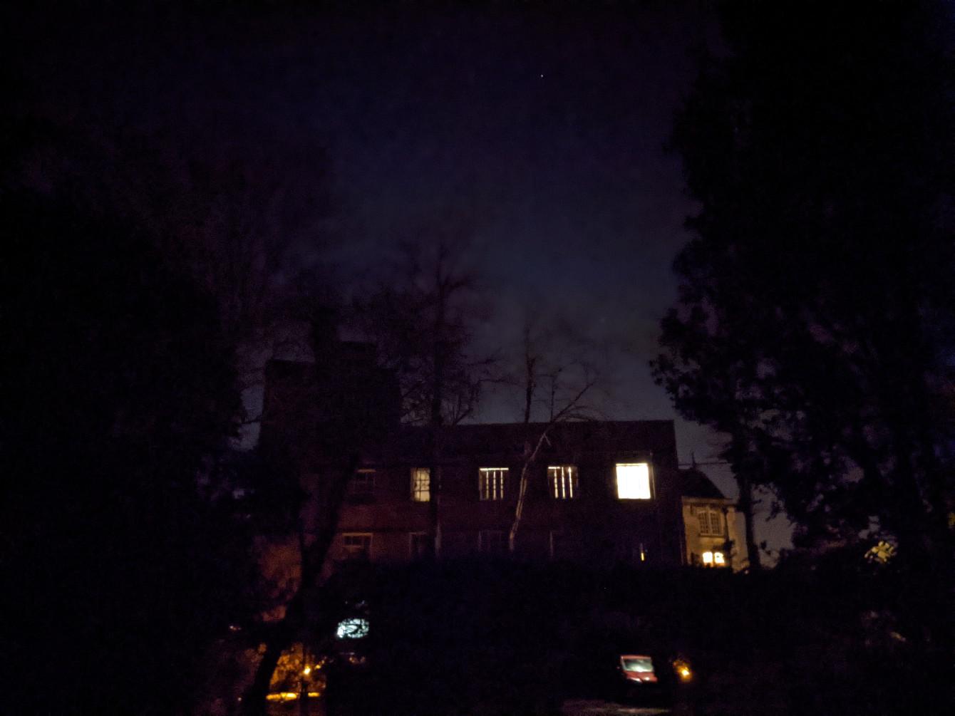Night Dark Google Pixel 5