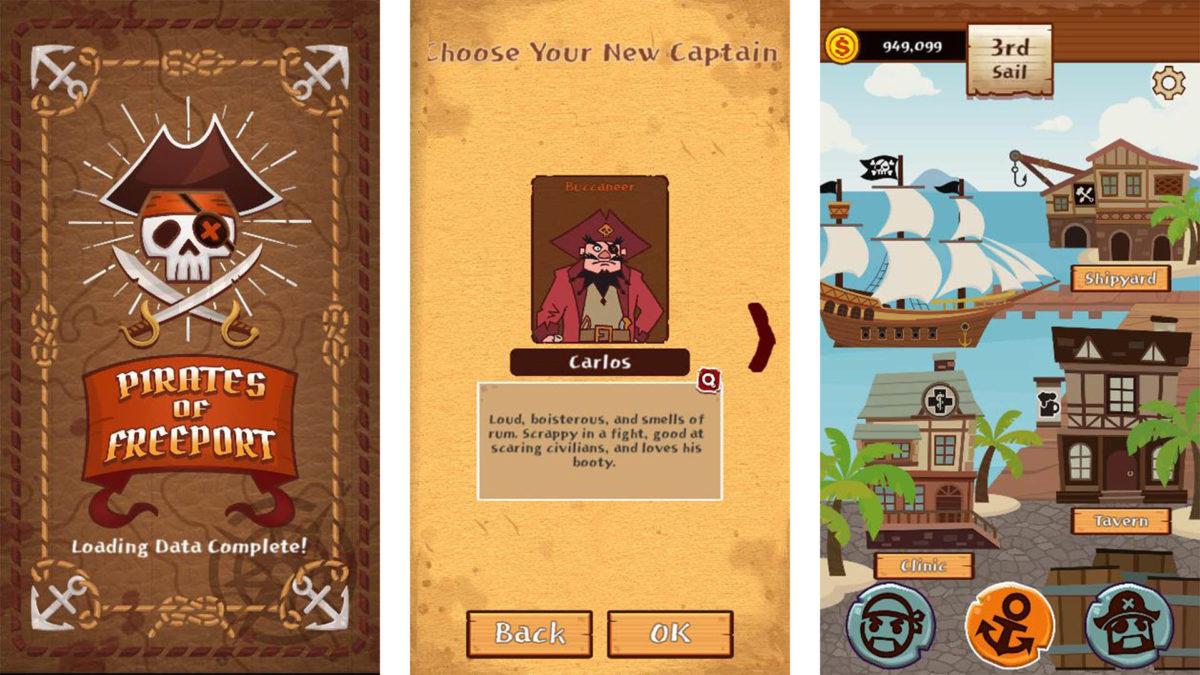 Screenshot of Pirates of Freeport