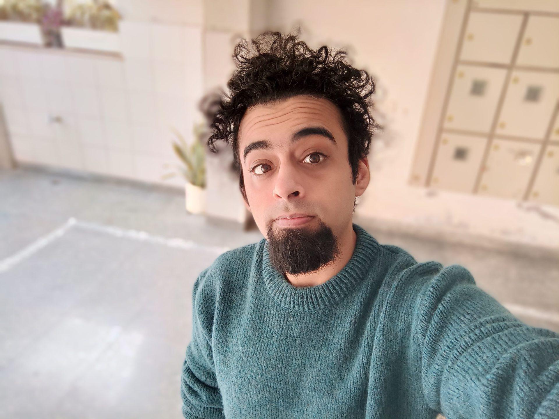 Realme X7 Pro camera sample selfie portrait mode
