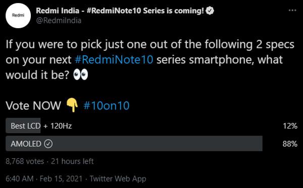 【更新:直播传送门】Redmi Note 10 系列开启预热,三月四日在印度市场发布 2