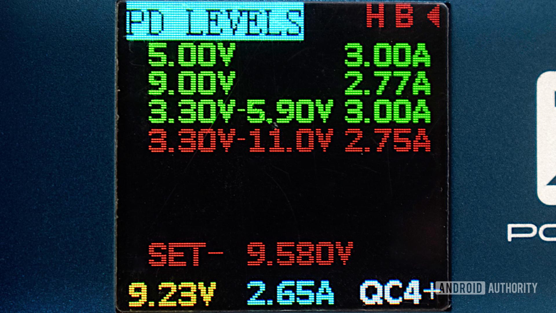 Samsung Galaxy 21 prefered power input