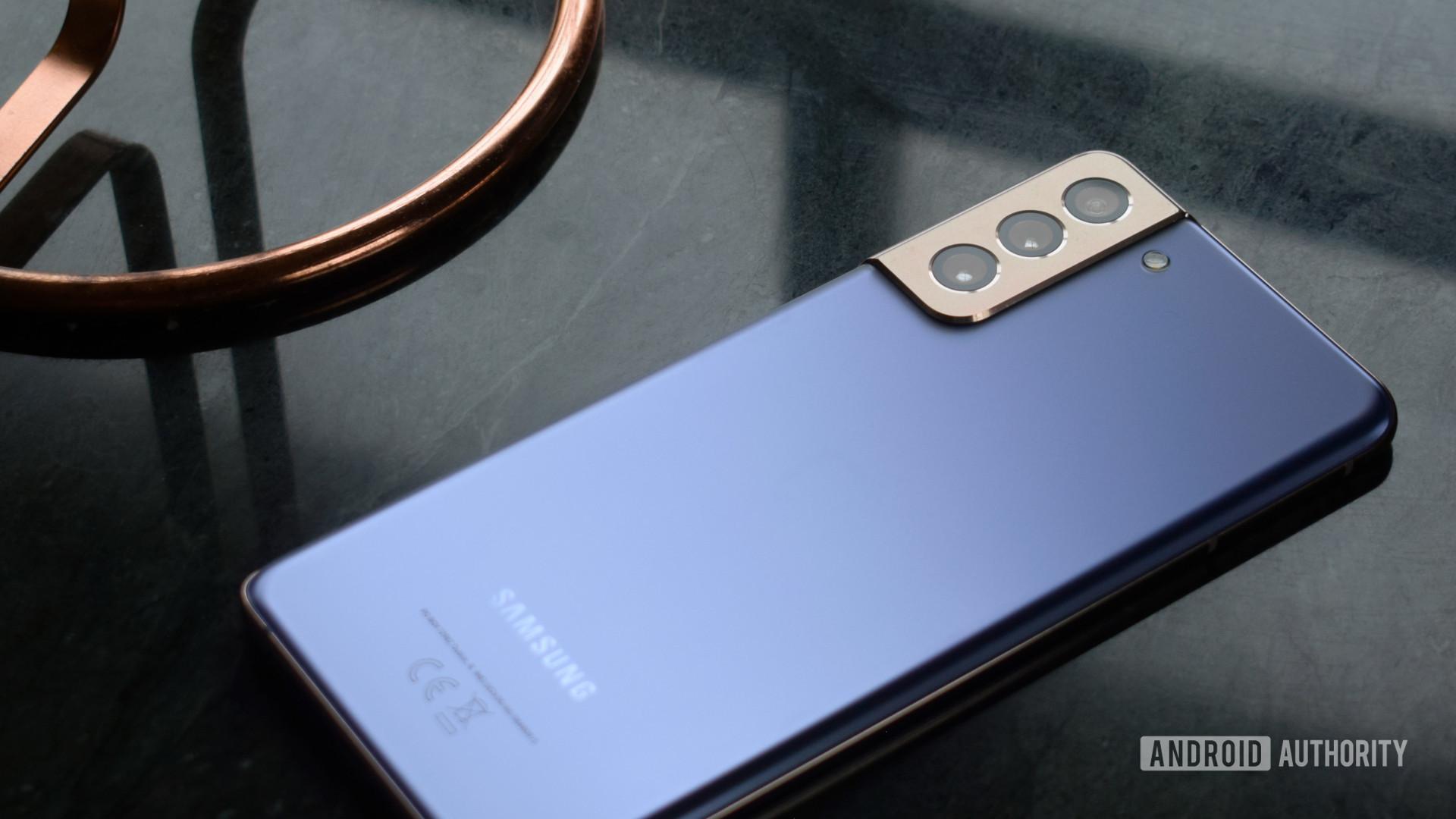 Samsung Galaxy S21 Plus Back Purple
