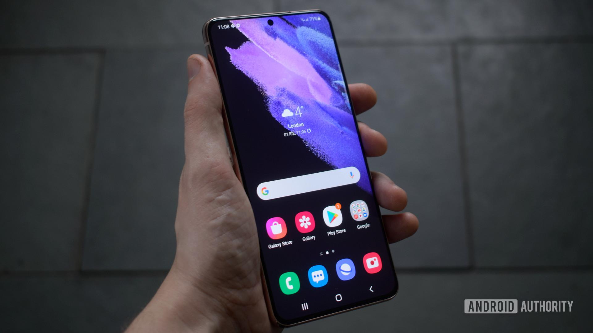 Samsung Galaxy S21 Plus front
