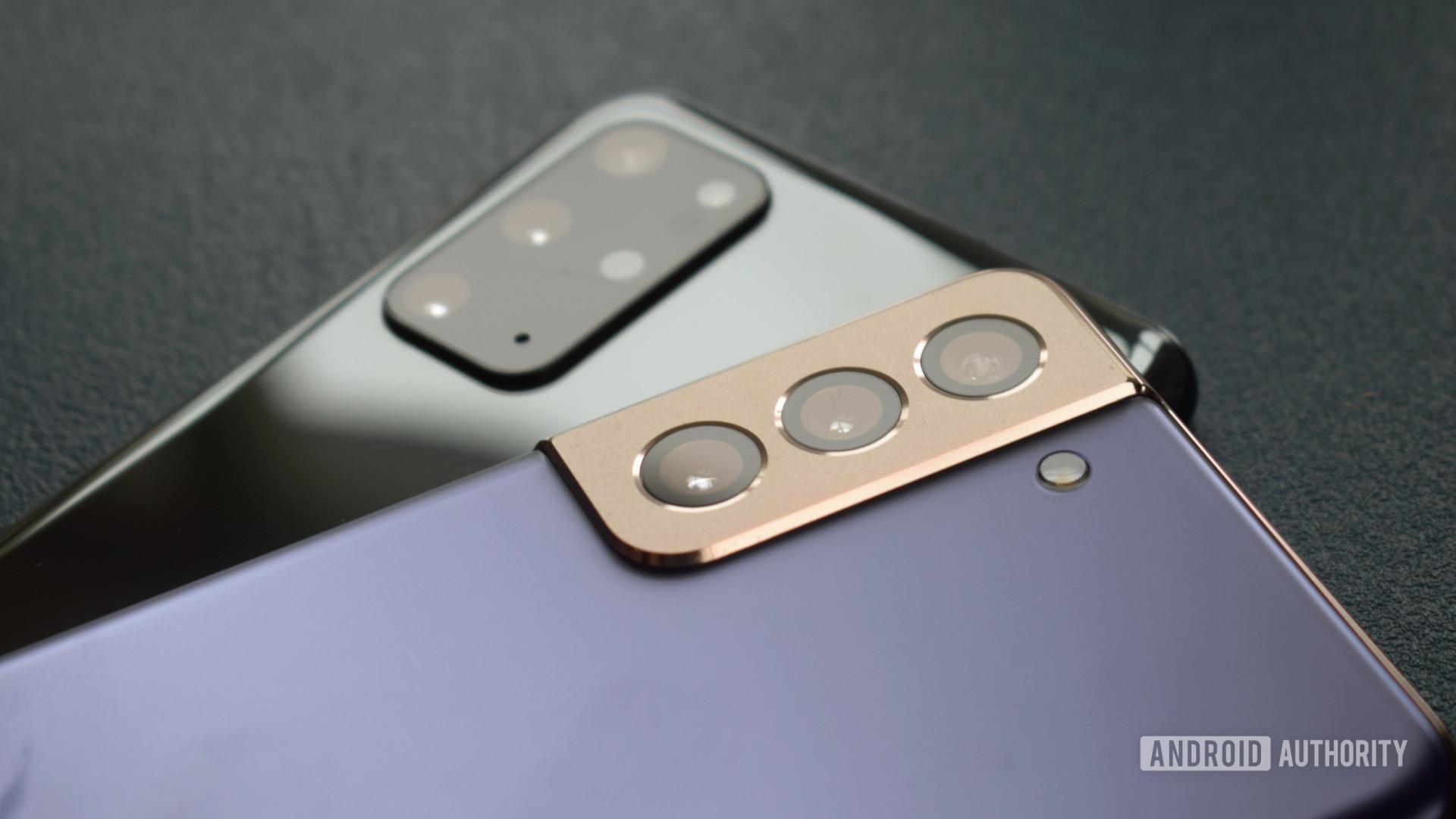 Samsung Galaxy S21 Plus vs Galaxy S20 Plus cameras