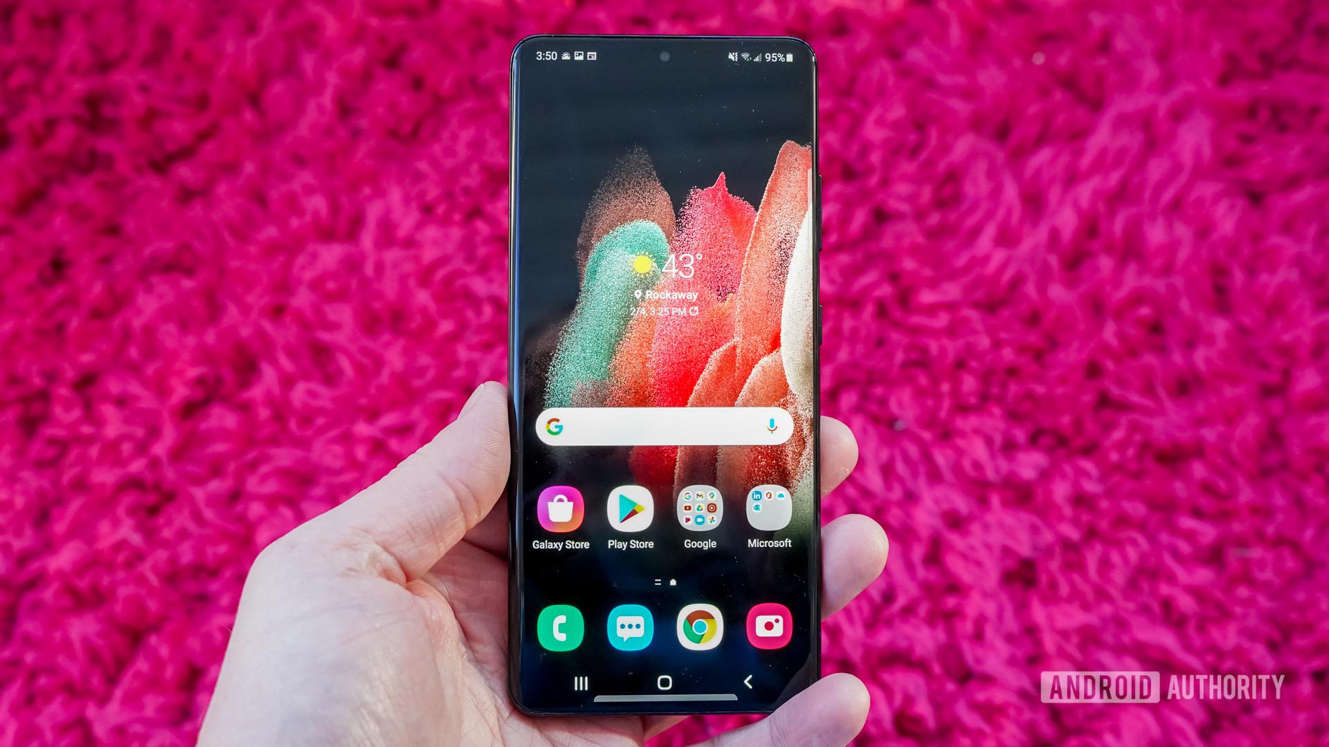 Samsung Galaxy S21 Ultra 5G display