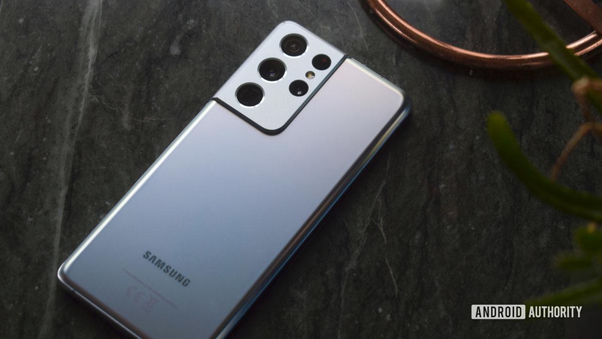 Samsung Galaxy S21 Ultra Silver slate