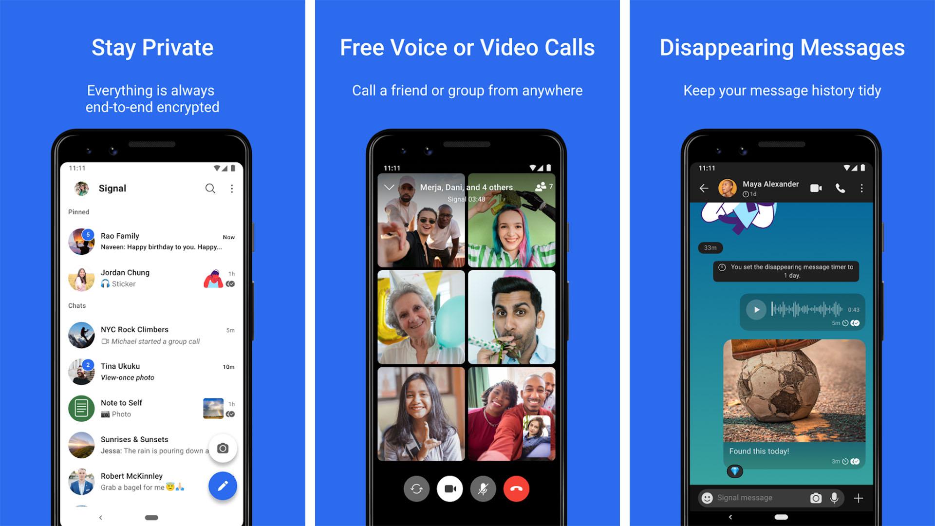 Signal Private Messenger screenshot 2021 2