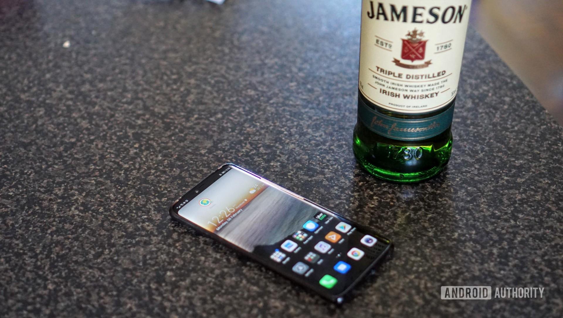 Smartphones could soon get a drunk mode.