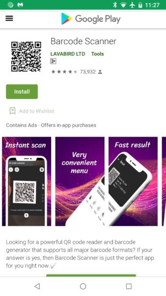 barcode scanner malwarebytes 1