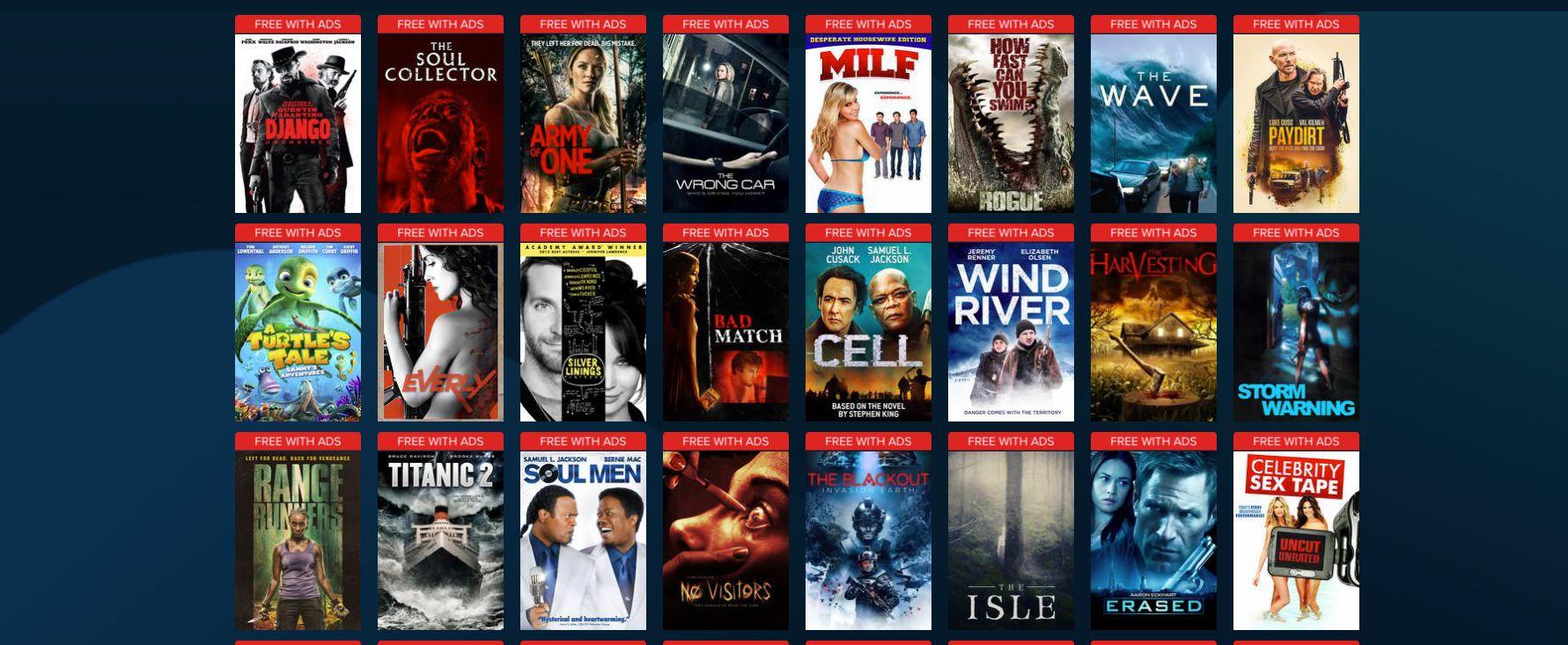 free vudu movies