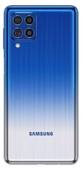 samsung galaxy f62 render laser blue