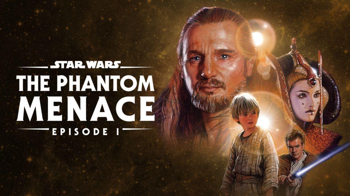 star wars episode i the phantom menace poster