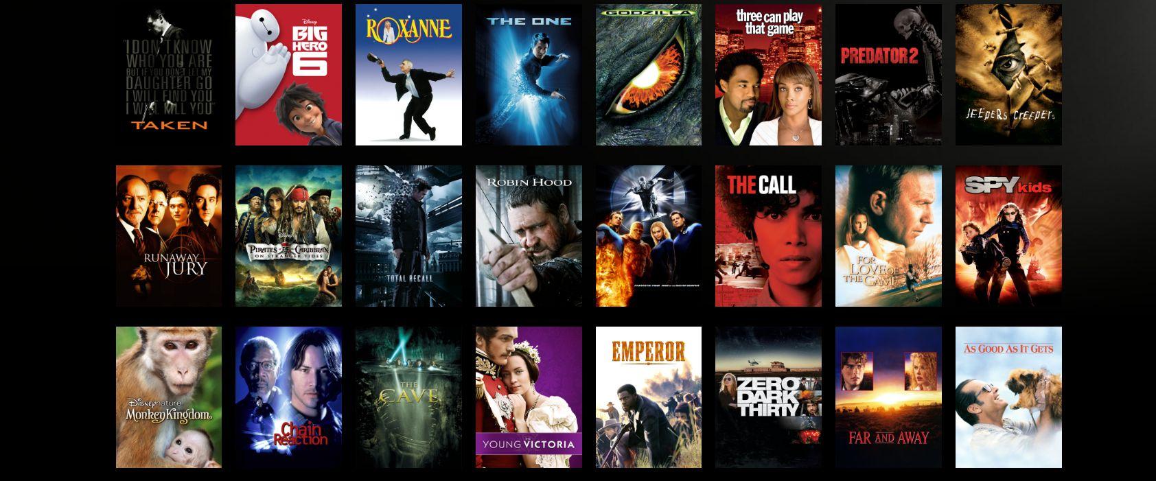 starz movie trending