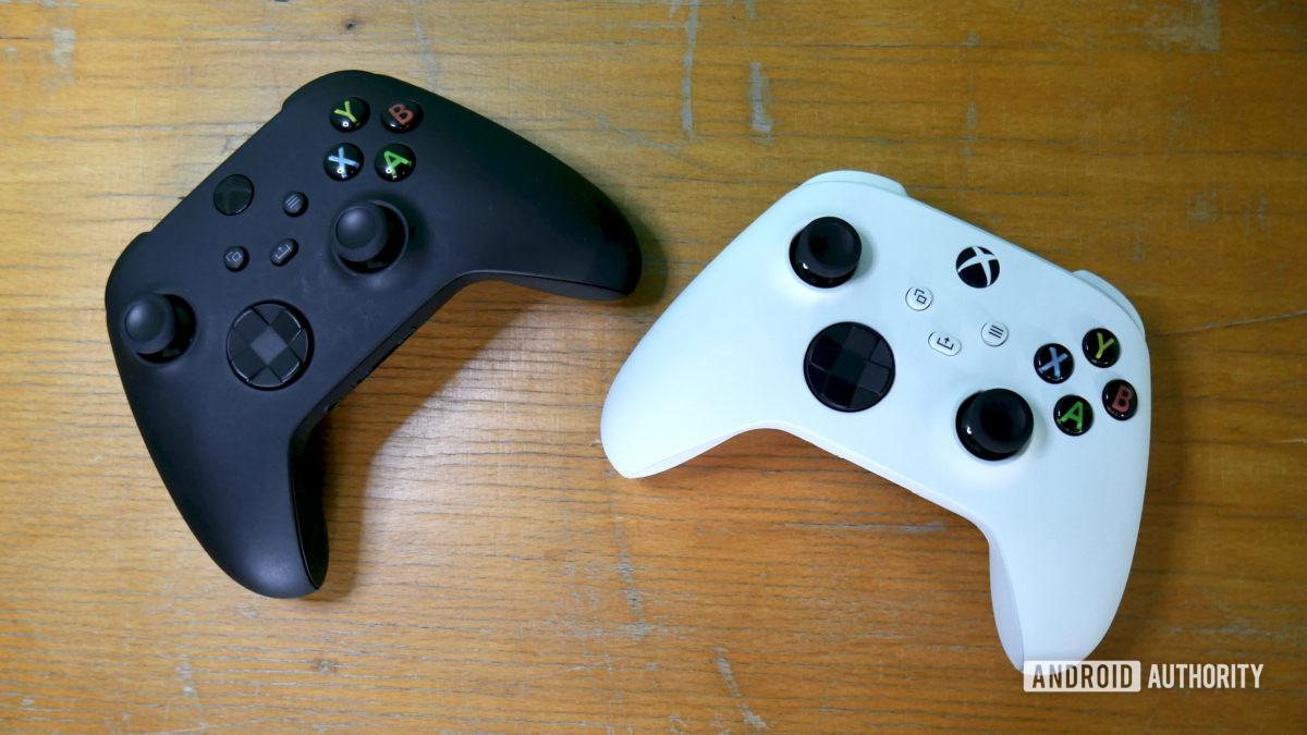 xbox series x vs series s controllers