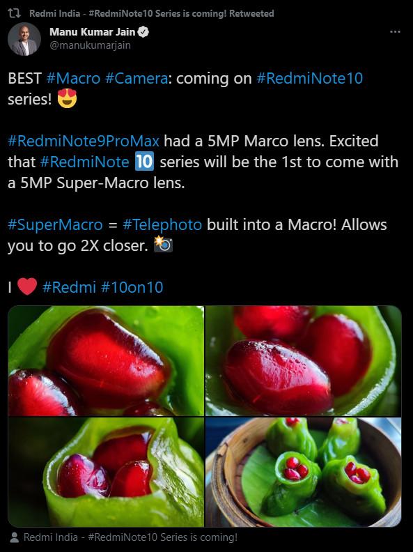 5mp telephoto macro camera manu jain twitter