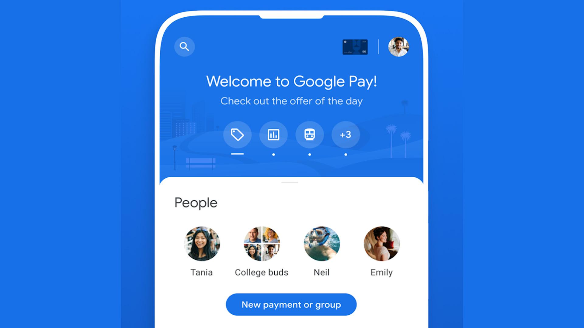 AAW Google Pay screenshot 2021