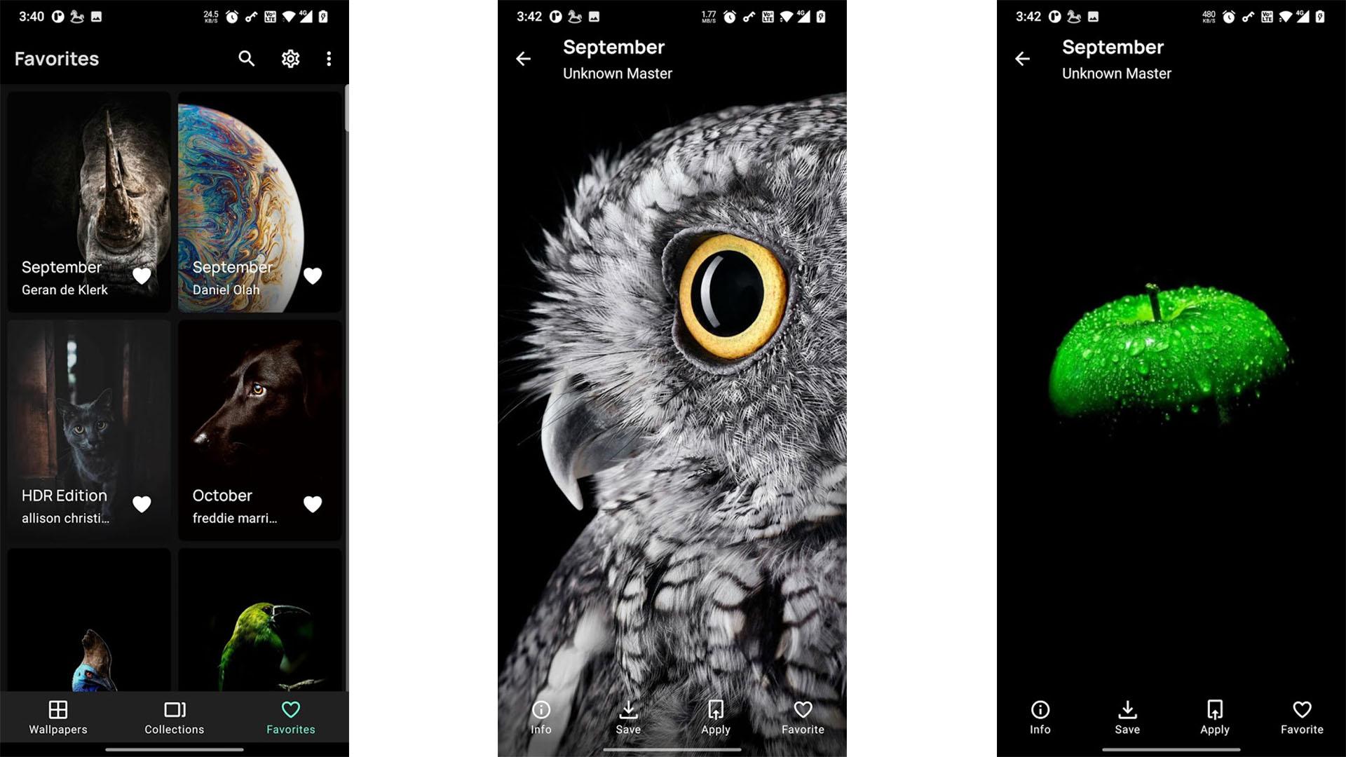 AMOLED Wallpapers No Ads screenshot 2021