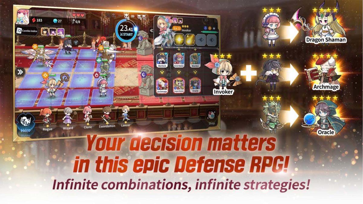 Arcana Tactics screenshot