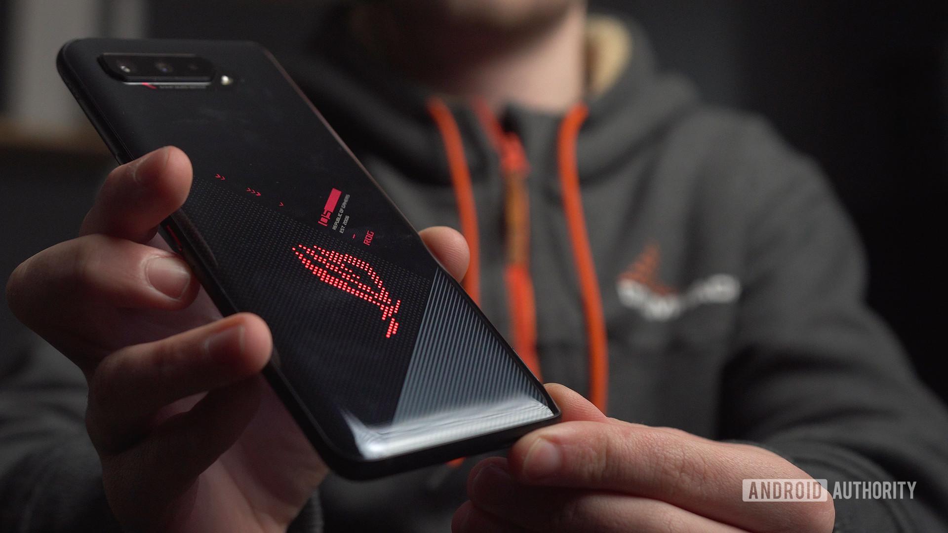 Logo Asus ROG Phone 5 ROG RGB