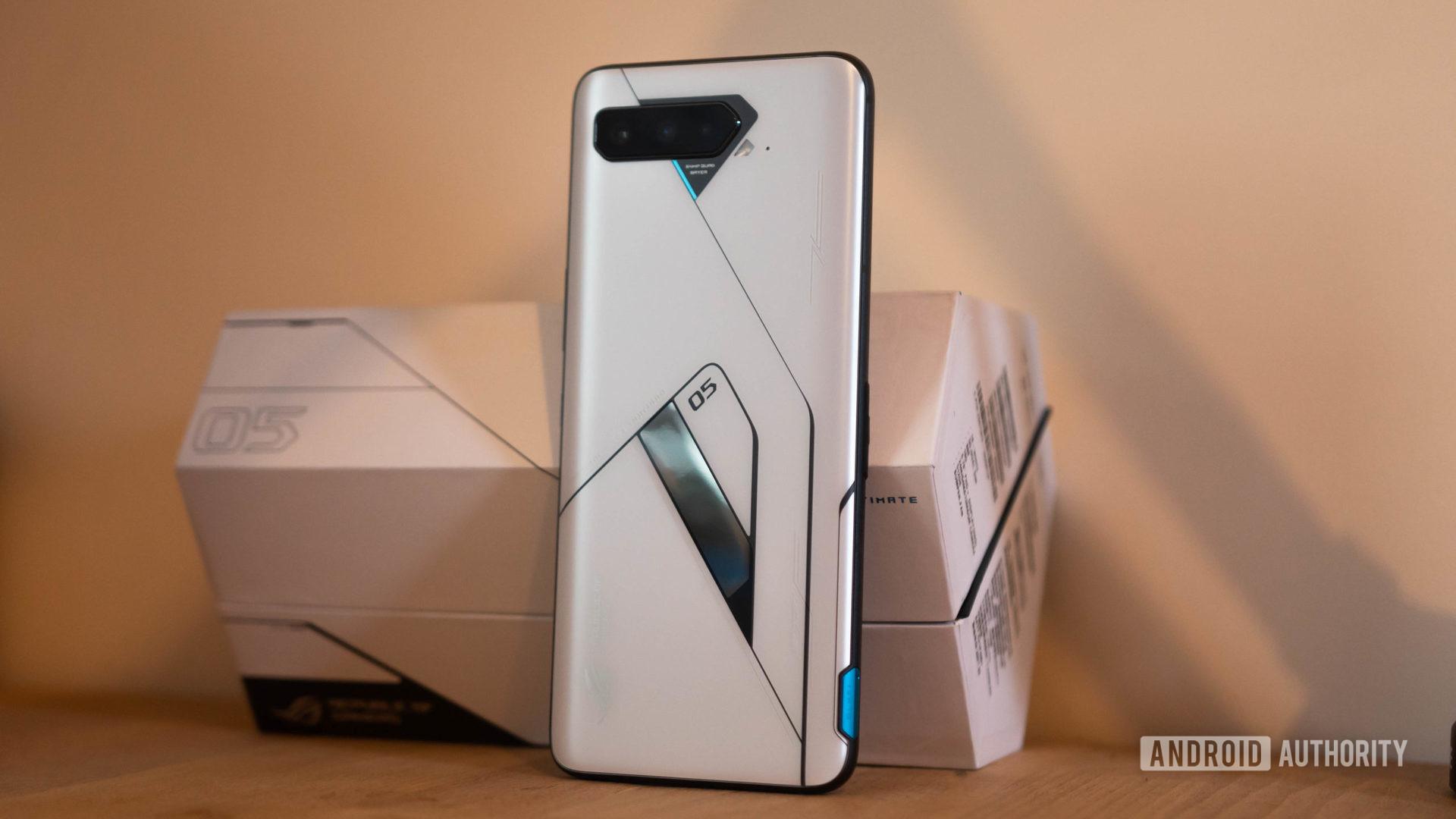 Asus ROG Phone 5 Ultimate Edition rear hero shot