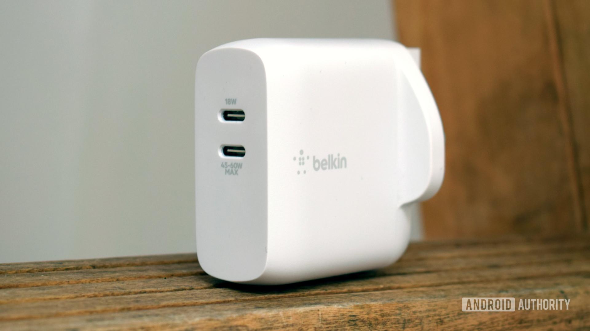 Belkin Boost Charge Dual USB C PD GaN profile