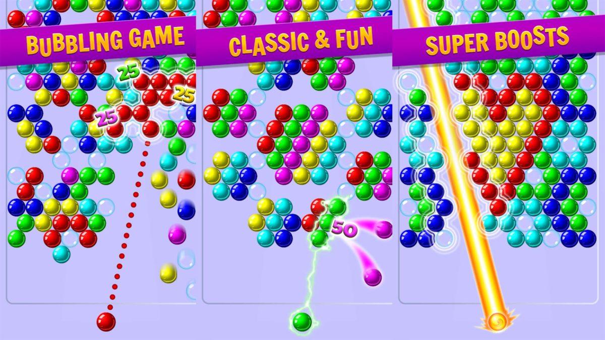Bubble Shooter screenshot by Ilyon