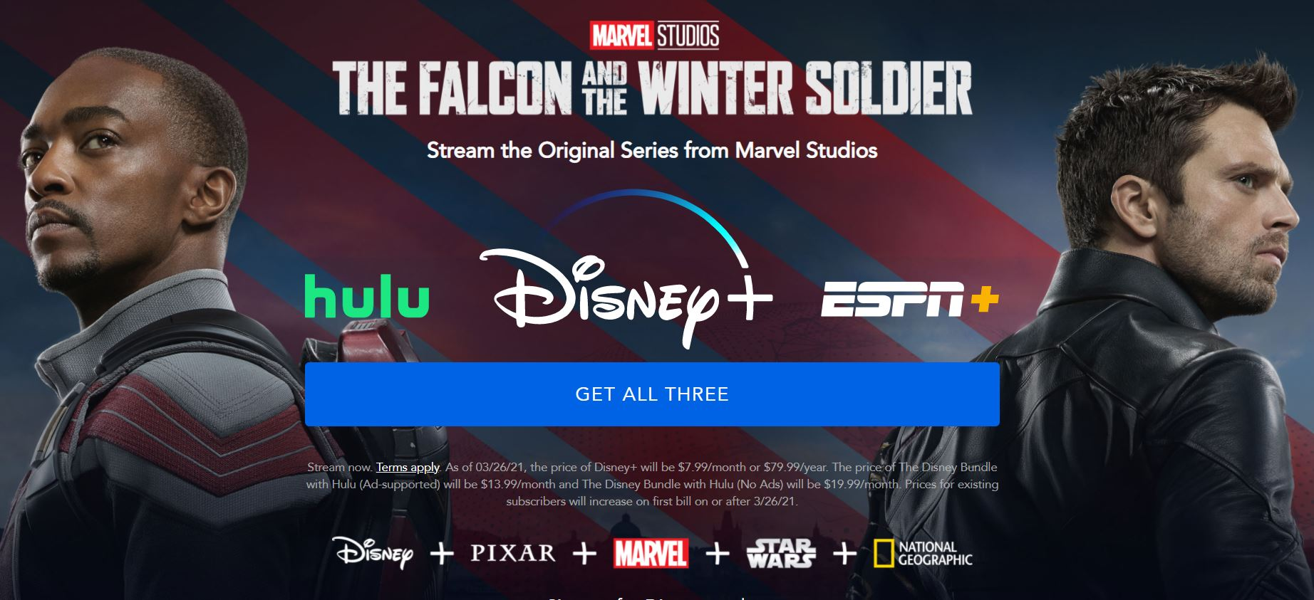 Disney Plus Falcon And The Winter Soldier Screenshot