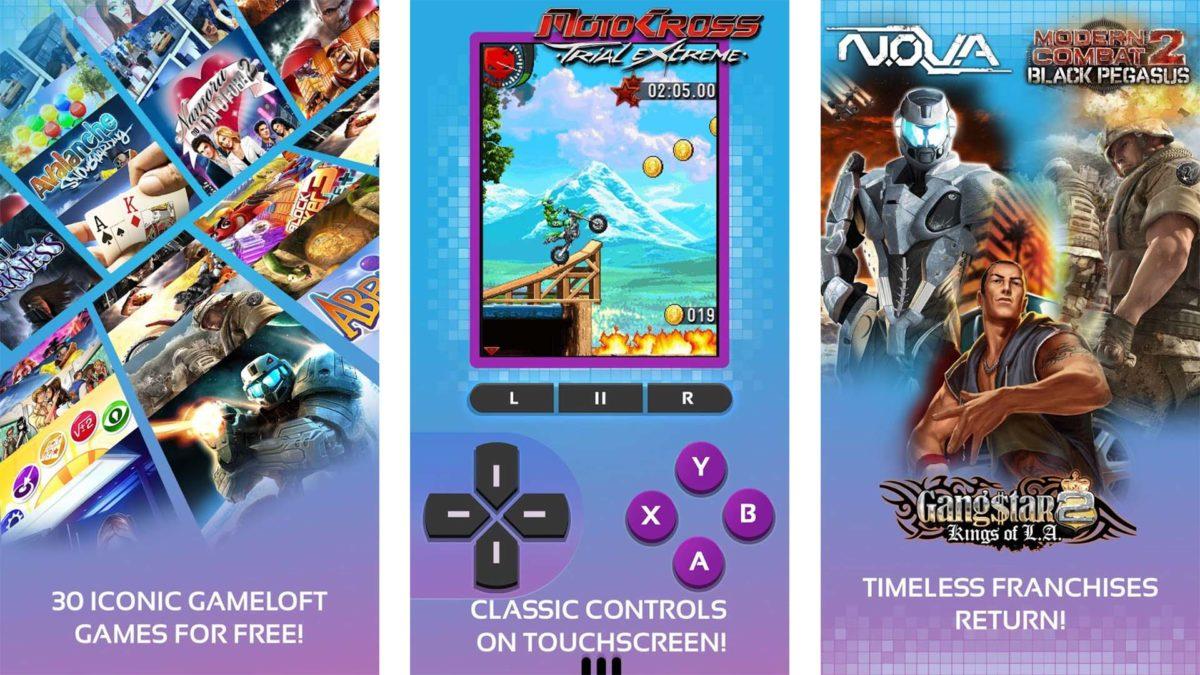 Screenshot of Gameloft Classics 20 Years