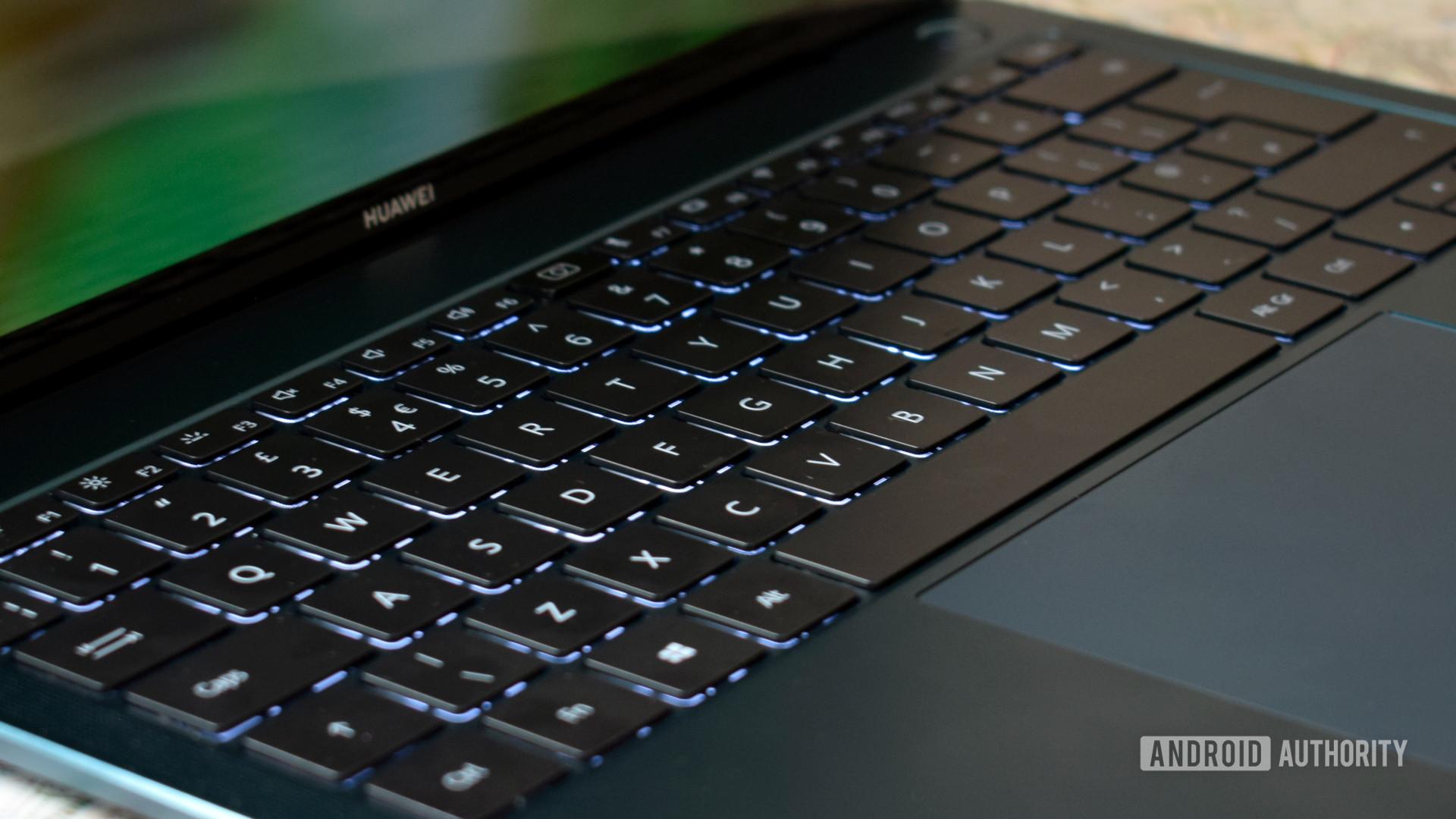 Huawei MateBook X Pro 2021 keyboard