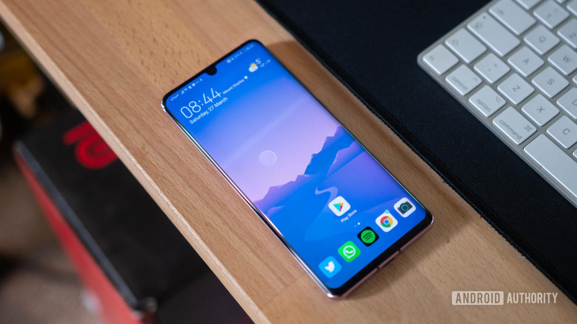 Huawei P30 Pro home screen