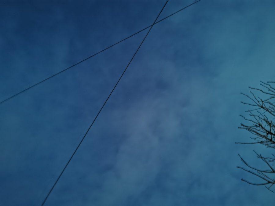 Huawei P30 Pro night mode photo sample of the sky