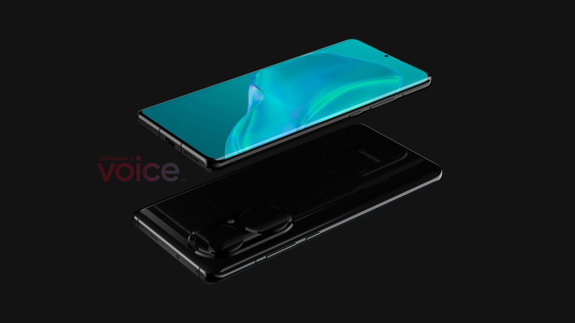 Huawei P50 Pro Leaked Renders 3