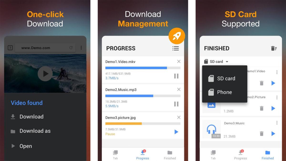 Screenshot of InShot Video Downloader 2021
