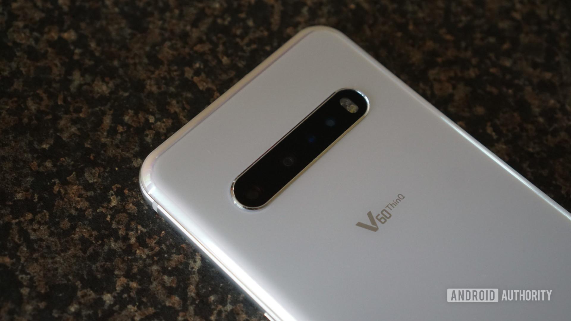 LG V60 back cameras