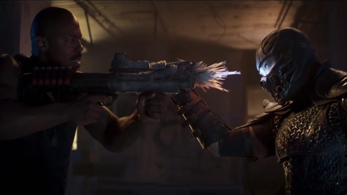 Mortal Kombat Sub Zero gun