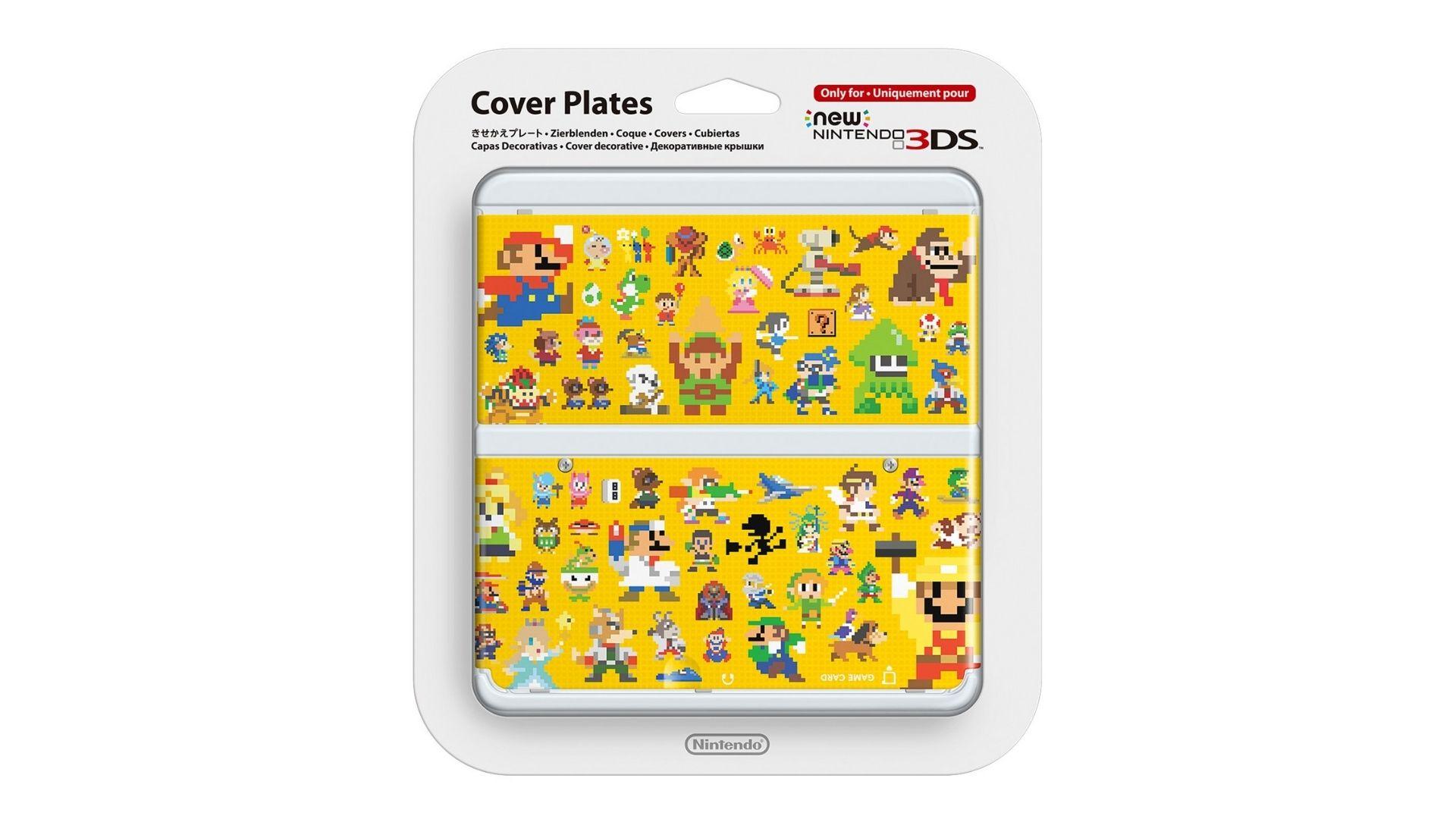 New Nintendo 3ds Cover Plate super mario maker
