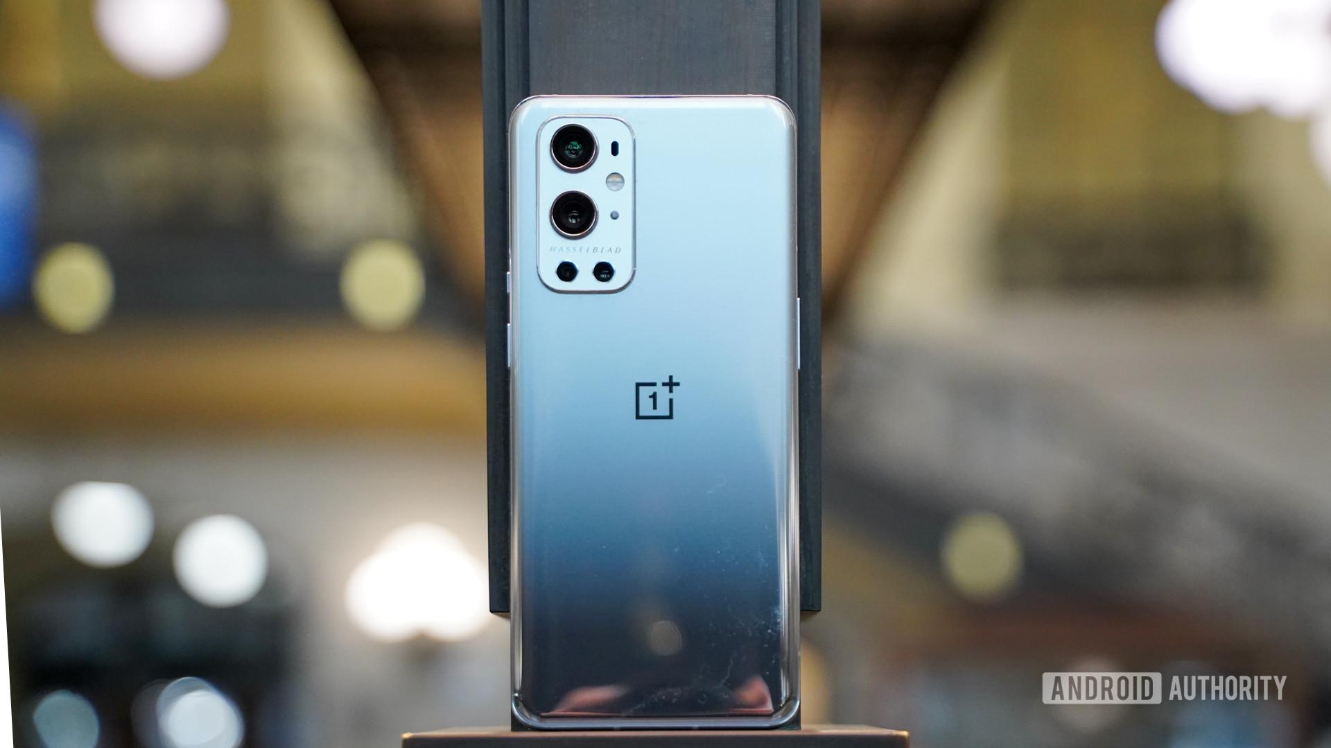 OnePlus 9 Pro rear profile