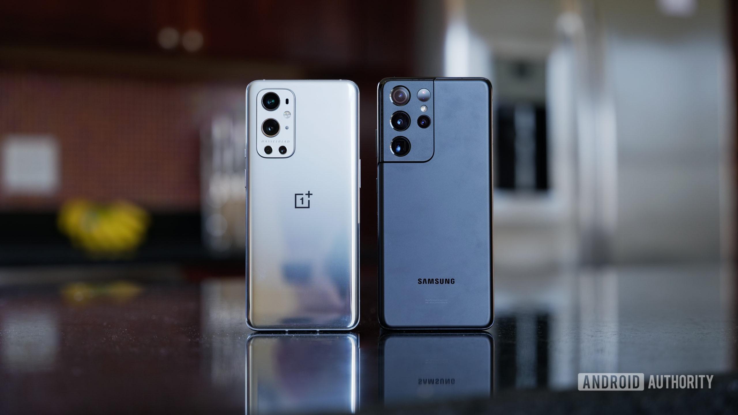 OnePlus 9 Pro vs Samsung Galaxy S21 Ultra 2