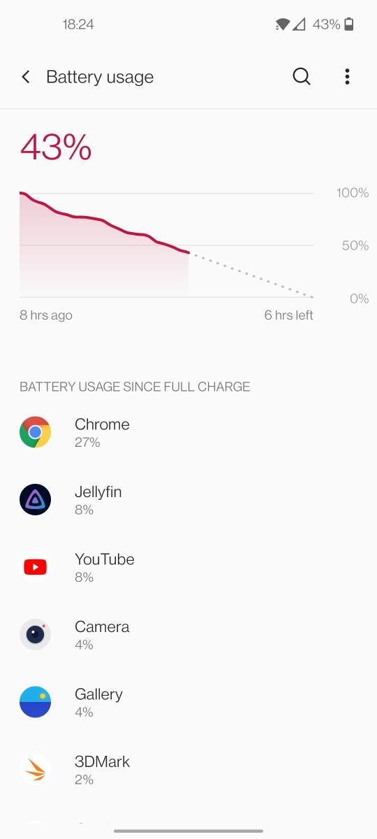 OnePlus 9 battery 2