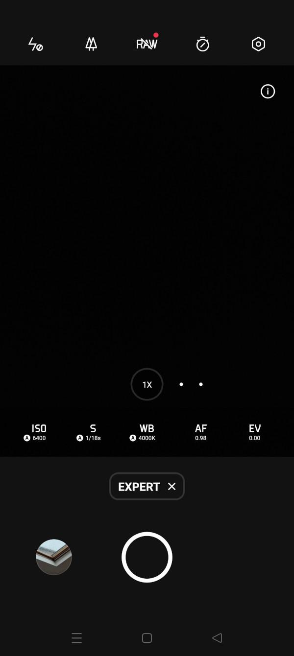 Oppo Find X3 Pro camera app 3