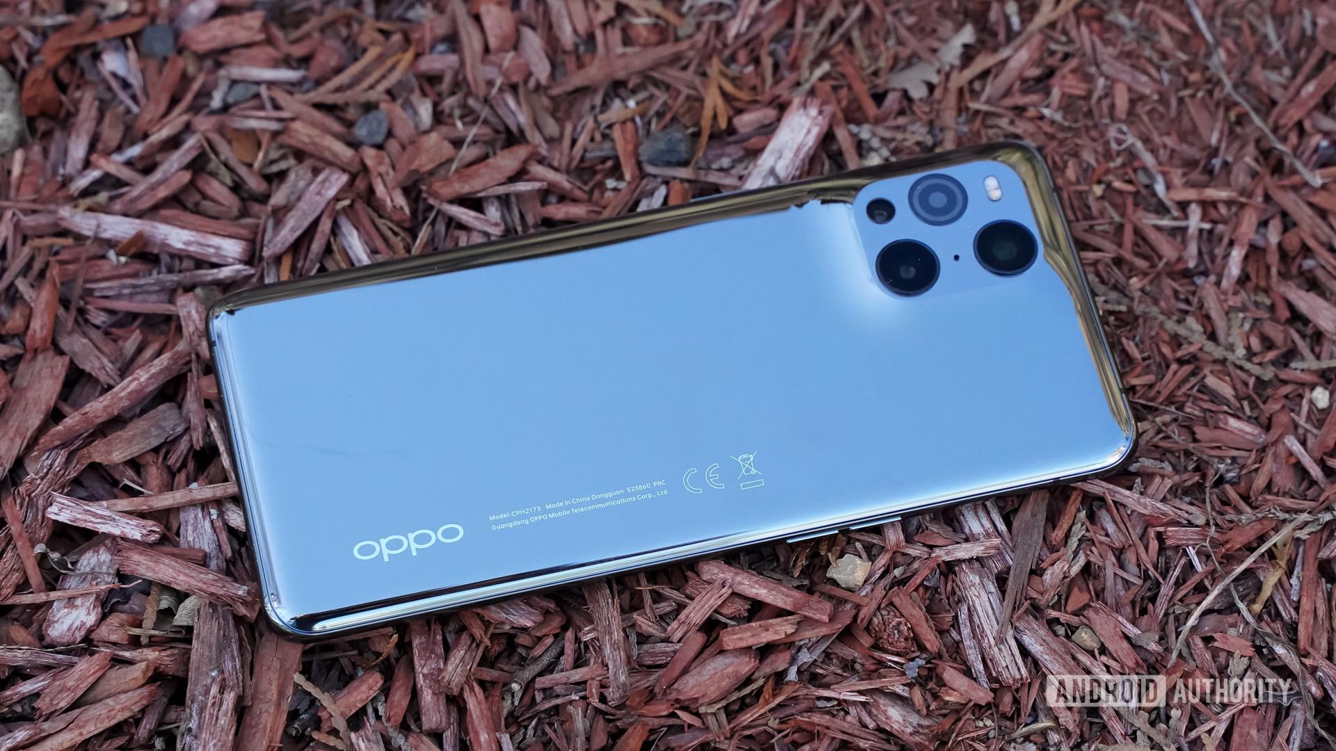 Oppo Find X3 Pro hero shot